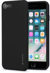 Meleovo Carcasa iPhone 8 / 7 Meleovo Metallic Slim 360 Black (culoare metalizata fina) (MLVMSIPH8BK)