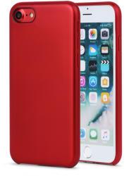 Meleovo Carcasa iPhone 8 Meleovo Pure Gear II Red (culoare metalizata fina, interior piele intoarsa) (MLVPG2IPH8RD)