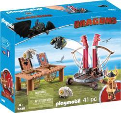 Playmobil Bélhangos báránycsúzlival (9461)