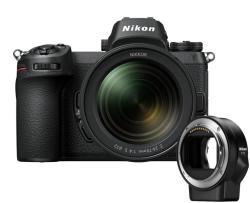 Nikon Z6 + 24-70mm + FTZ Kit (VOA020K003)