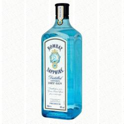 Bombay Sapphire London Dry Gin 40% 1L