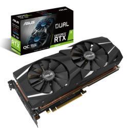 ASUS GeForce RTX 2080 Ti OC 11GB GDDR6 352bit PCIe (DUAL-RTX2080TI-O11G)