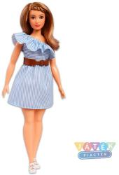 Mattel Fashionistas : duci baba csíkos ruhában