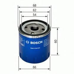 Bosch Filtru ulei DACIA SANDERO II (2012 - 2016) BOSCH 0 451 104 025