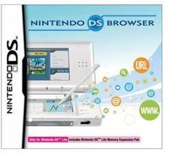 Nintendo DS Lite Browser