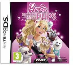 THQ Barbie Groom and Glam Pups (Nintendo DS)
