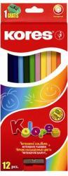 KORES HEXAGONAL színes ceruza 12 db