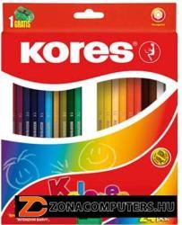 KORES HEXAGONAL színes ceruza 24 db