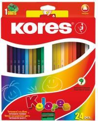 KORES TRIANGULAR színes ceruza 24 db