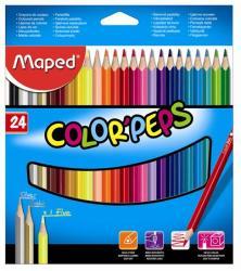 Maped COLOR`PEPS színes ceruza 24db