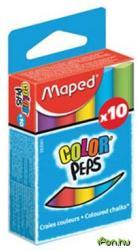 Maped Színes táblakréta 10 db/doboz