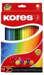 KORES TRIANGULAR színes ceruza 36 db
