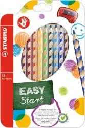 STABILO EasyColors színes ceruza balkezes 12 db/doboz