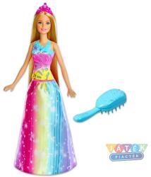 Mattel Barbie Dreamtopia - Tündöklő hercegnő mágikus fésűvel (FRB12)