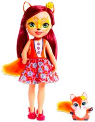 Mattel Enchantimals - Ölelni való cukiságok - nagy Felicity Fox és Flick (FRH51)
