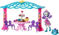 Mattel Enchantimals - Kerty party játékszett - Patter Peacock (FRH49)