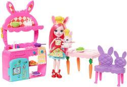 Mattel Enchantimals - konyhai móka játékszett - Bree Bunny (FRH44/FRH47)