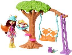 Mattel Enchantimals - Játszótéri kalandok játékszett - Felicity Fox (FRH44/FRH45)