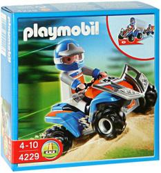 Playmobil Verseny quad - kék (4229)