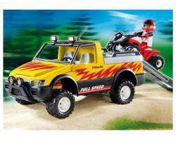 Playmobil Pick-up verseny quaddal (4228)