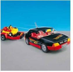 Playmobil Sportkocsi gokarttal (4442)