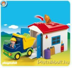 Playmobil Teherautó formakereső garázzsal (6759)