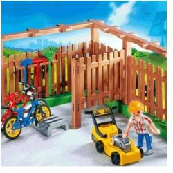Playmobil Kerítés biciklitárolóval (4280)