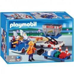 Playmobil Csomag- és rakományszállítók (4315)