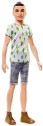 Mattel Barbie - Fashionistas - vékony Ken baba pólóban