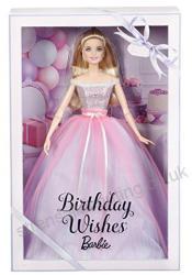 Mattel Barbie születésnapi baba díszdobozban