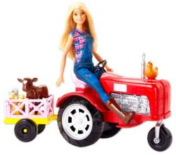 Mattel Barbie traktorral