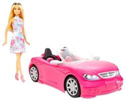 Mattel Barbie rózsaszín kabrióval (FPR57)
