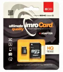 Imro microSD 8GB C10 KOM000654