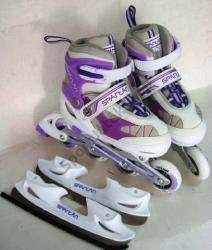 Spartan Girl 2in1 Purple