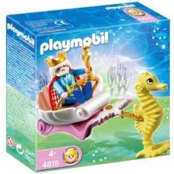 Playmobil Szivárványzátony királya csikóhalfogatán (4815)