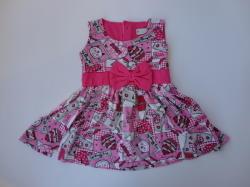 Кимекс Рокля в розово с панделка, 74, 86