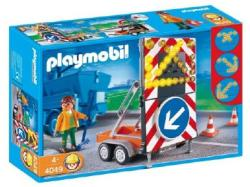 Playmobil Világító útelterelő tábla (4049)