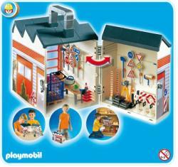 Playmobil Hordozható útkarbantartás szett (4043)