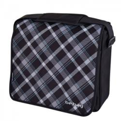Herlitz Geanta de umar messenger Be. Bag Black Checked Herlitz HZ11437613