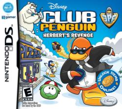 Disney Club Penguin Herbert's Revenge (Nintendo DS)