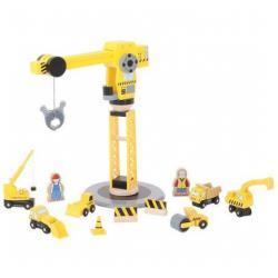 Bigjigs Toys Set constructie Macara (BJT200)