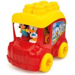 Clementoni Clemmy - Autobuz Mickey Cu Cuburi (CL14792)