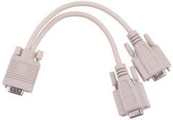 Cablu Adaptor Vga 15pini Tata-2x 15pini Mama (kpo3869) - vexio