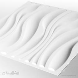 WallArt WAVES 3D WallArt falpanel