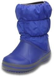 Crocs Cizme Crocs Winter Puff Boot Kids Albastru