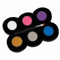 Alpino Set machiaj ALPINO Make-up pallete Princess - 6 culori + pensula (MS-DL000162)