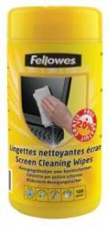 Fellowes Képernyőtisztító kendő, 100 db (100 db/csomag)