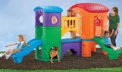 Step2 Maxi kerti játszótér (élénk színek)