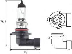 HELLA Bec, far faza lunga VW PASSAT Variant (3C5) (2005 - 2011) HELLA 8GH 005 636-121