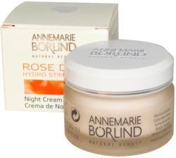 Annemarie Börlind Hydro Stimulant Rose Dew Éjszakai krém vízhiányos bőrre 50ml